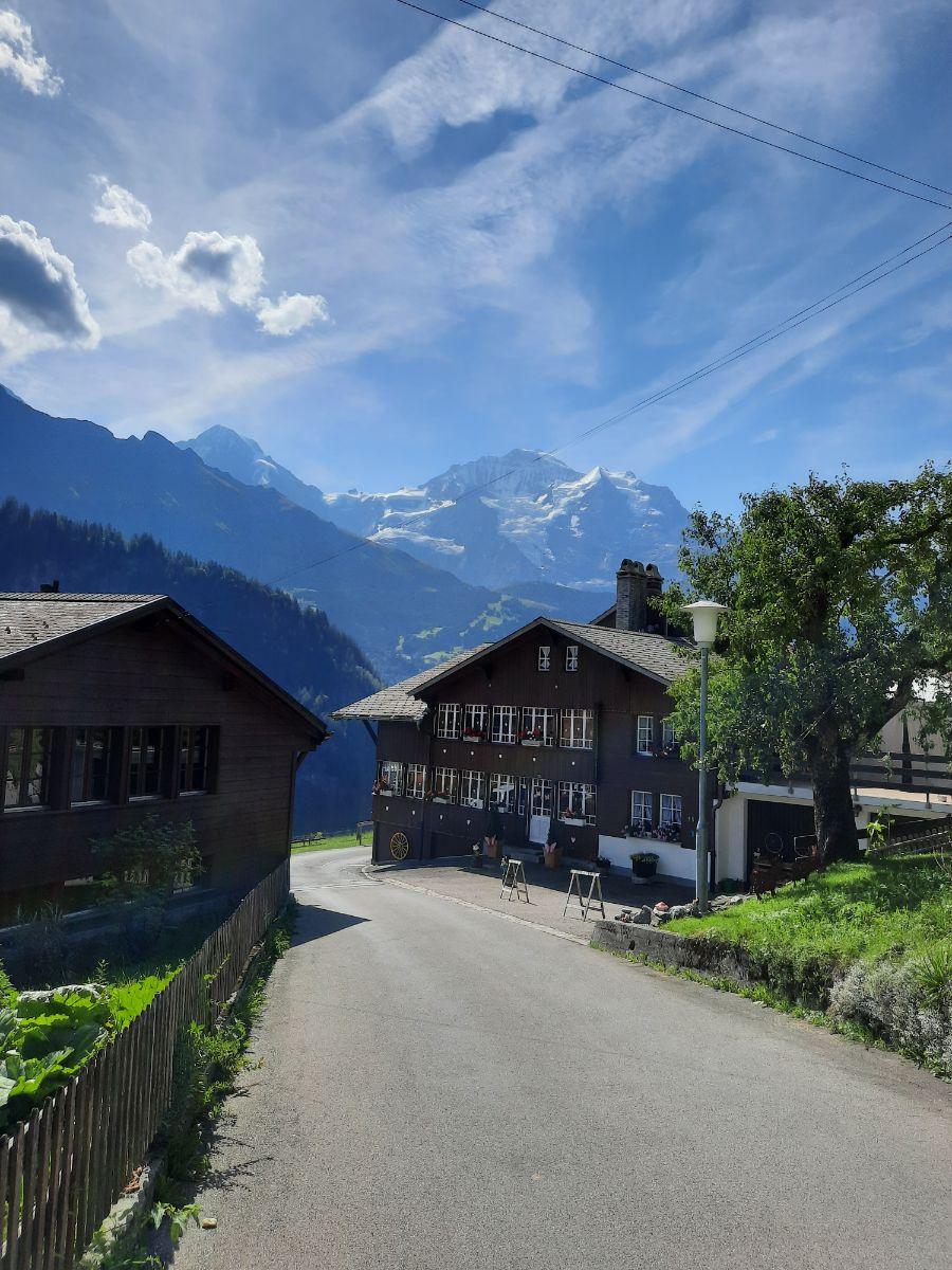 Isenfluh village streets