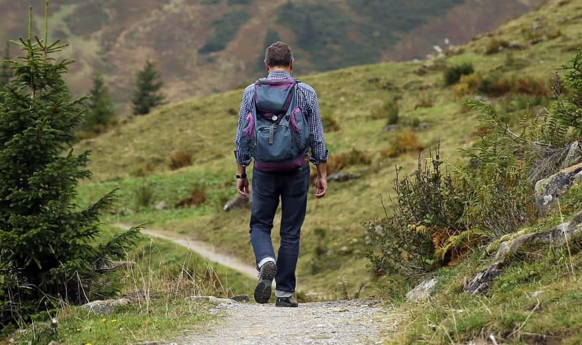 Camino hiking alone