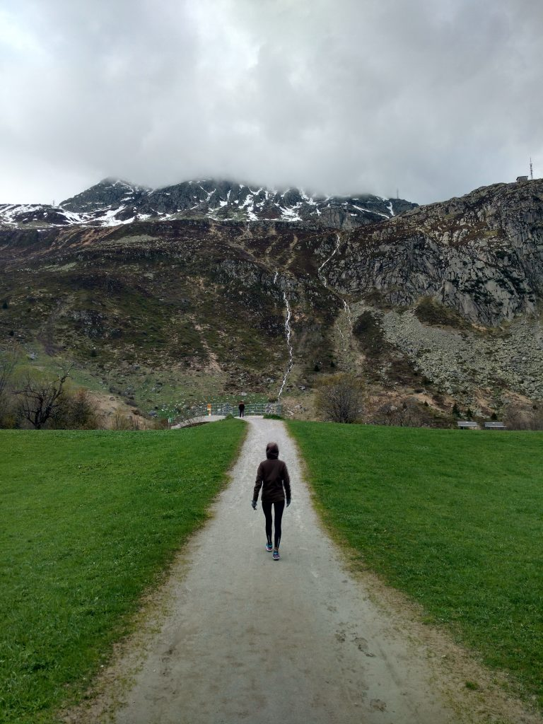 Hiking from Andermatt