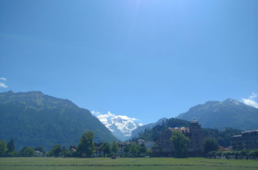 Interlaken - the delicate pearl surrounded by majestic mountains