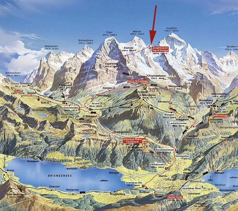 Grindelwald hiking trails