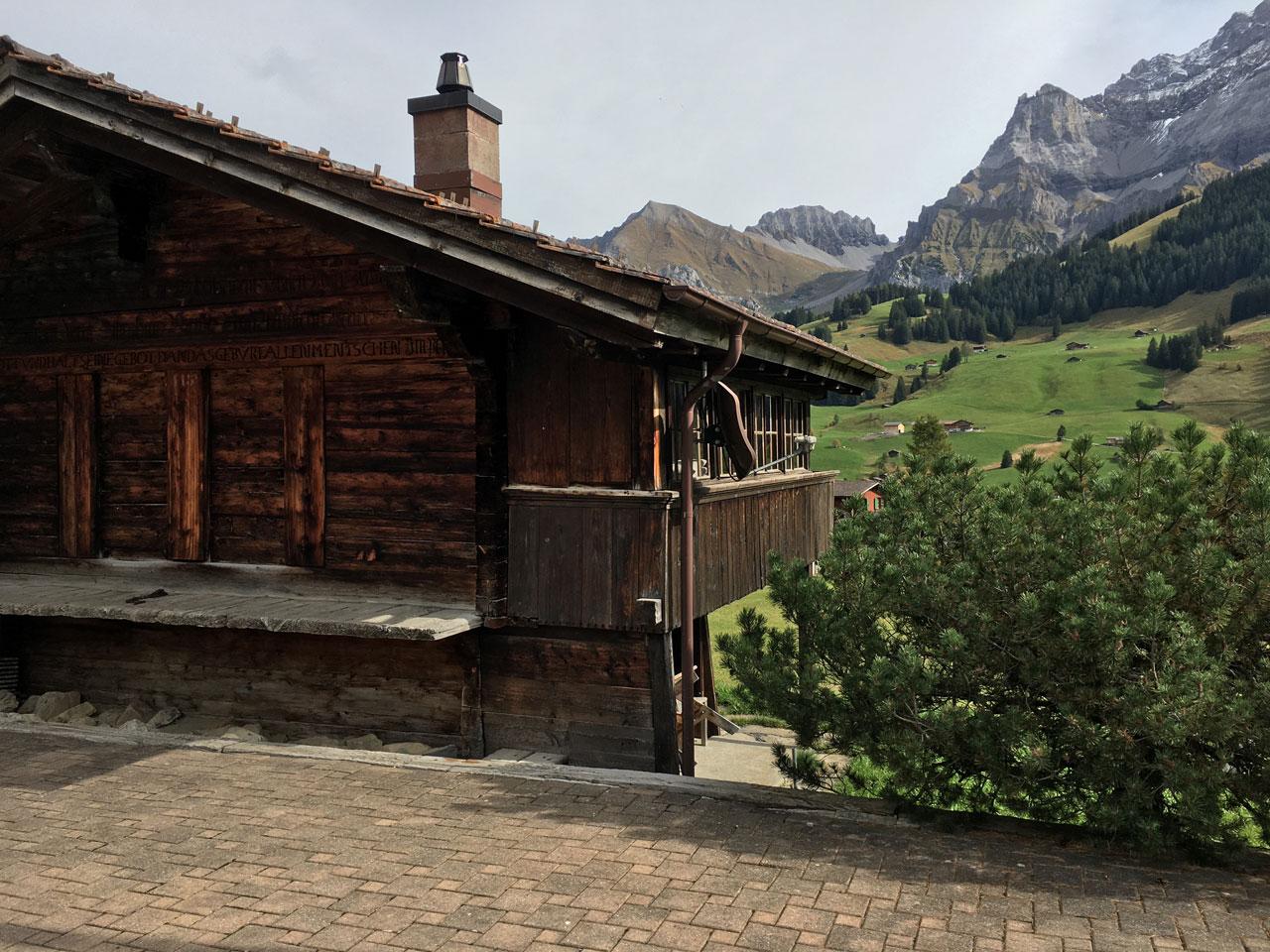 Adelboden village