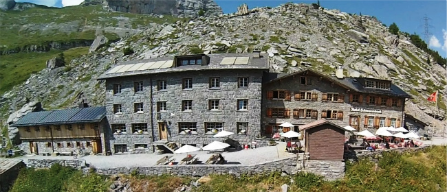Schwarenbach hotel in Gemmipass