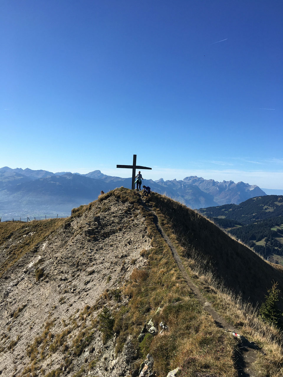 Hiking in Gryon, Chaux Ronde