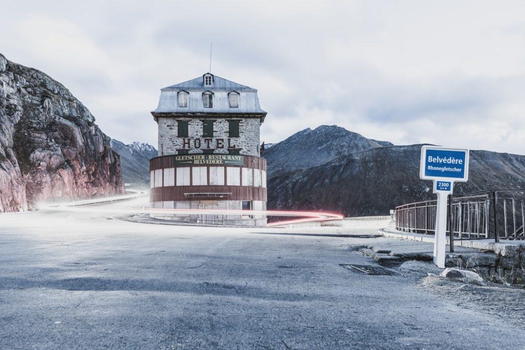 Hotel Belvedere Furka Pass 1