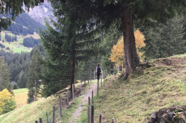Hiking in Switzerland in September