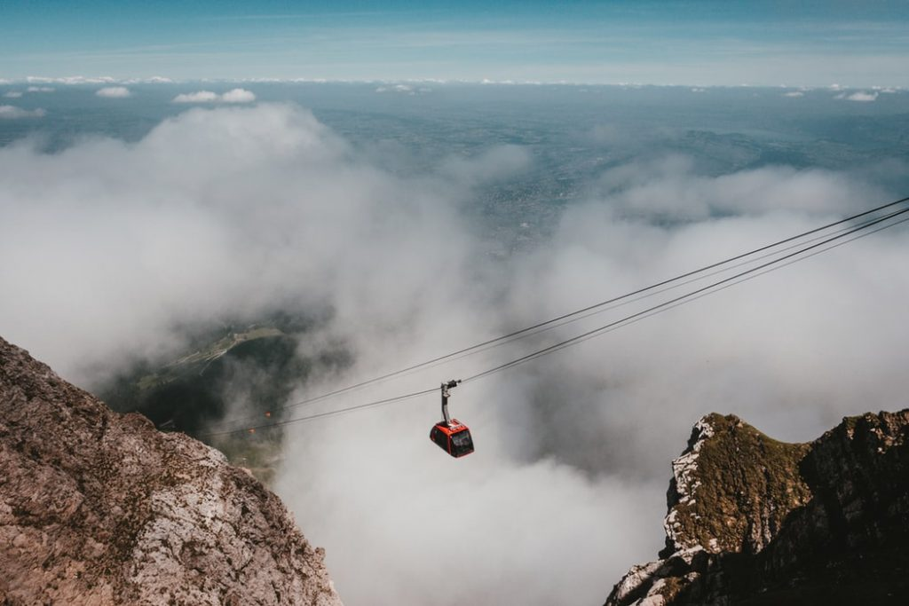 Mount Pilatus cable car