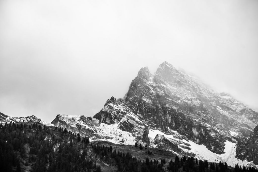 Gimmelwald Hike during the winter