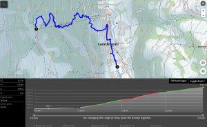 Hike from Lauterbrunnen to Grütschalp