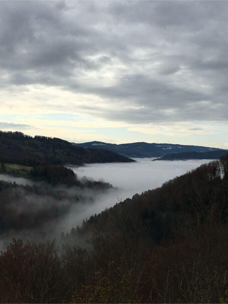 Road to Saint Ursanne