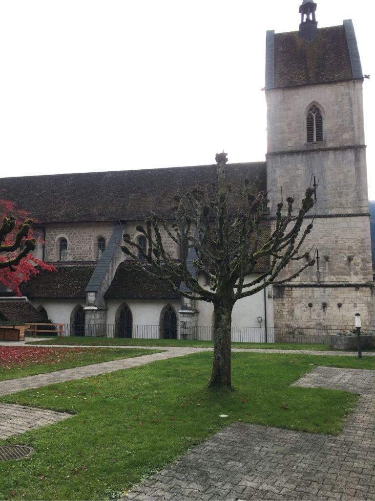 Saint Ursanne church