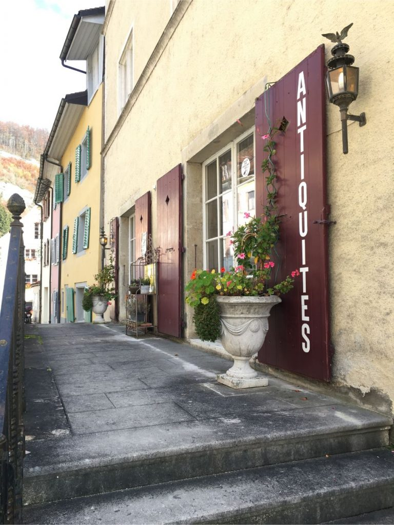 Saint Ursanne streets