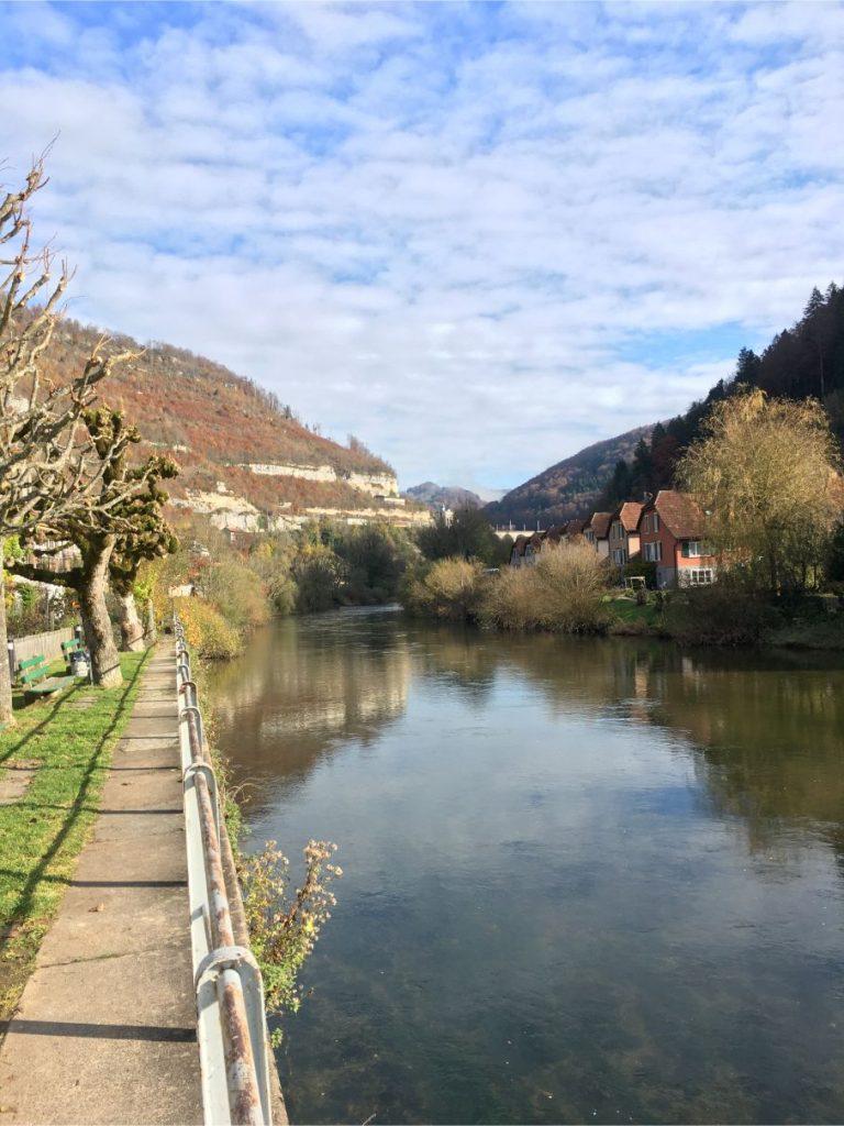 Saint Ursanne river walk