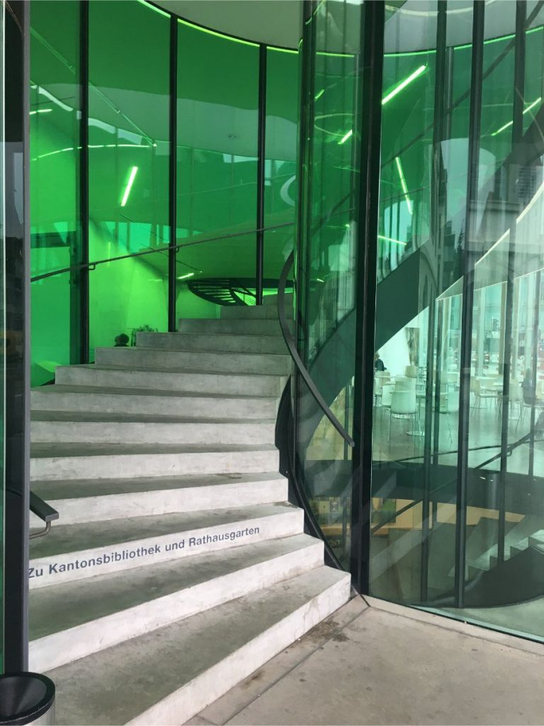 Aargauer Kunsthaus stairs