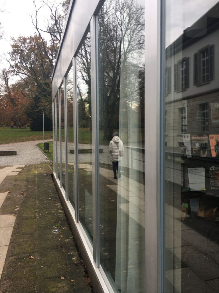 View from Aarau library