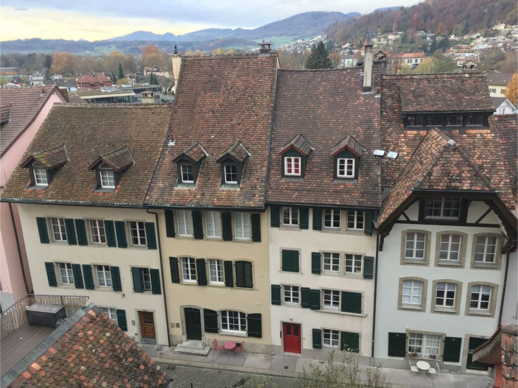 Aarau oldtown views