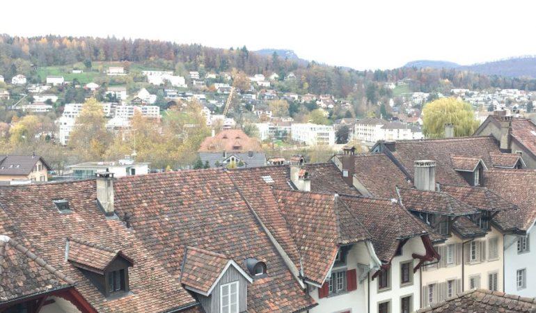 Aarau oldtown views