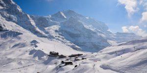 Kleine Scheidegg in winter
