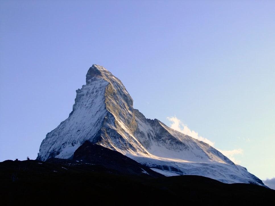 Gornergrat hike - a view to Matterhorn