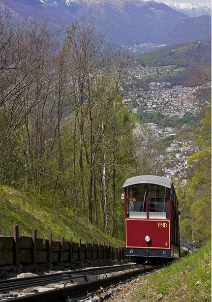 Monte Bre funicular