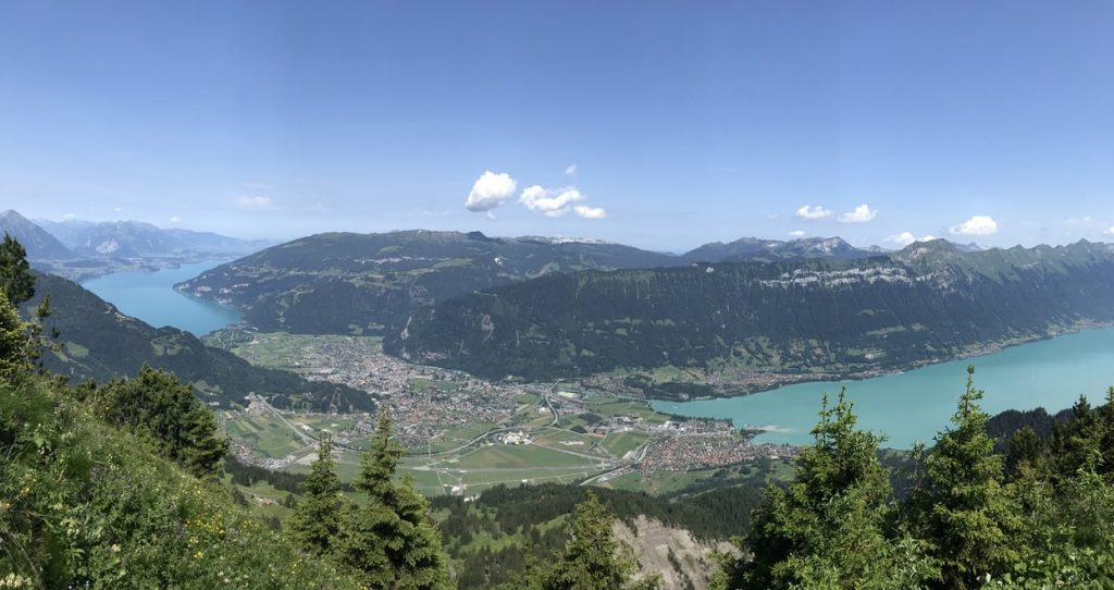 Schynige Platte views