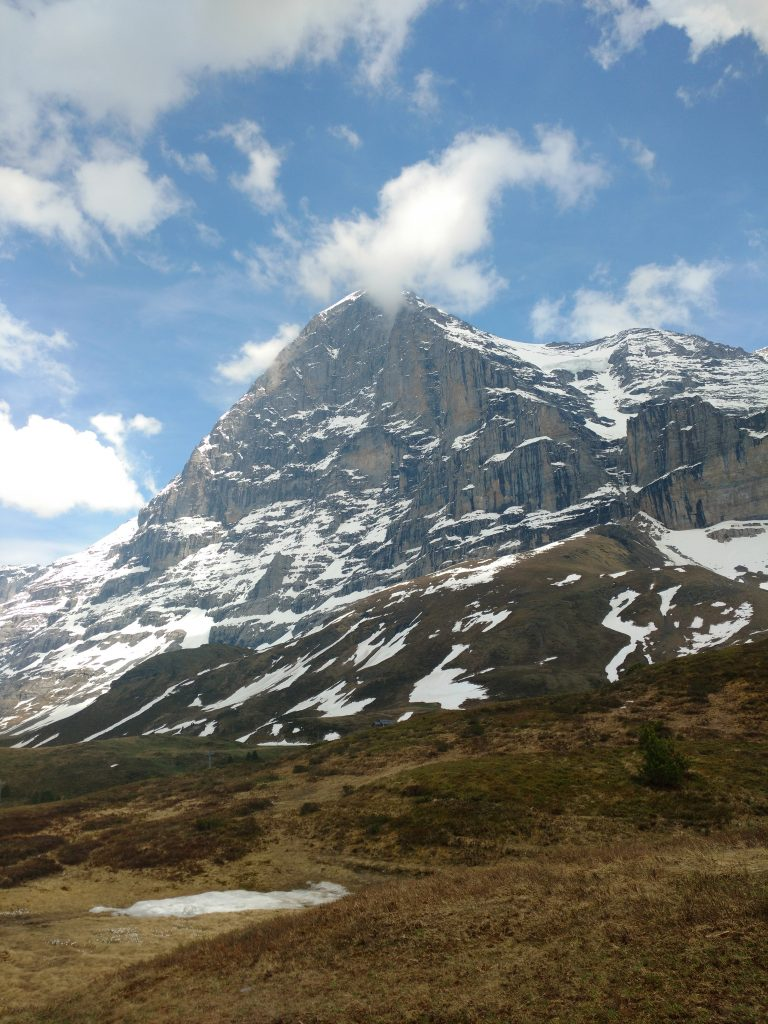 Eiger mountain hike