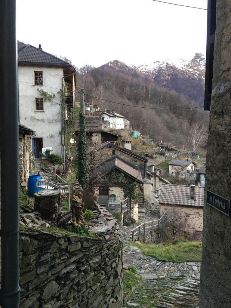 Indemini village, Switzerland