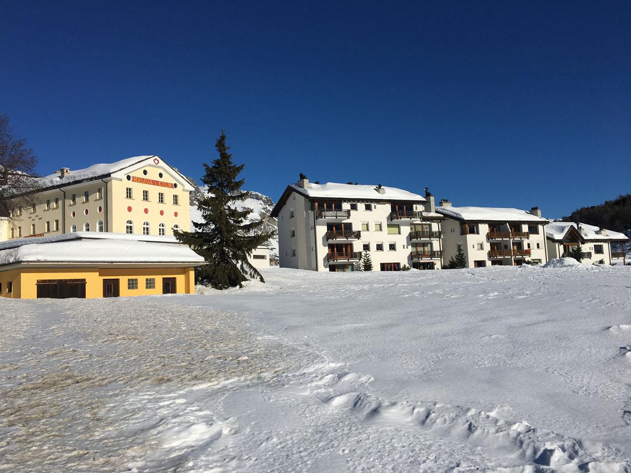 Maloja Pass village