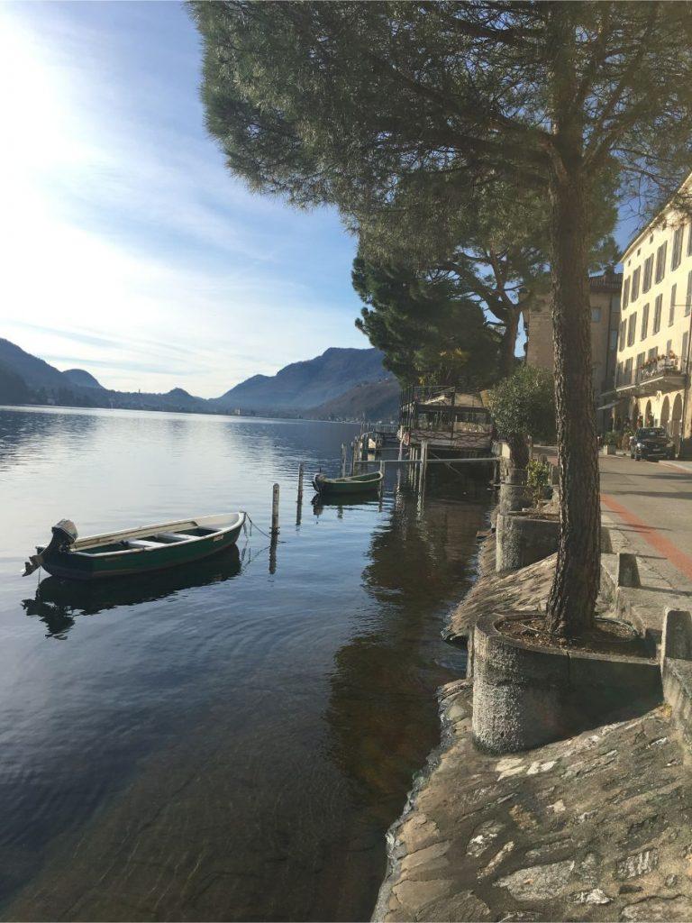 Morcote, Ticino canton, Switzerland