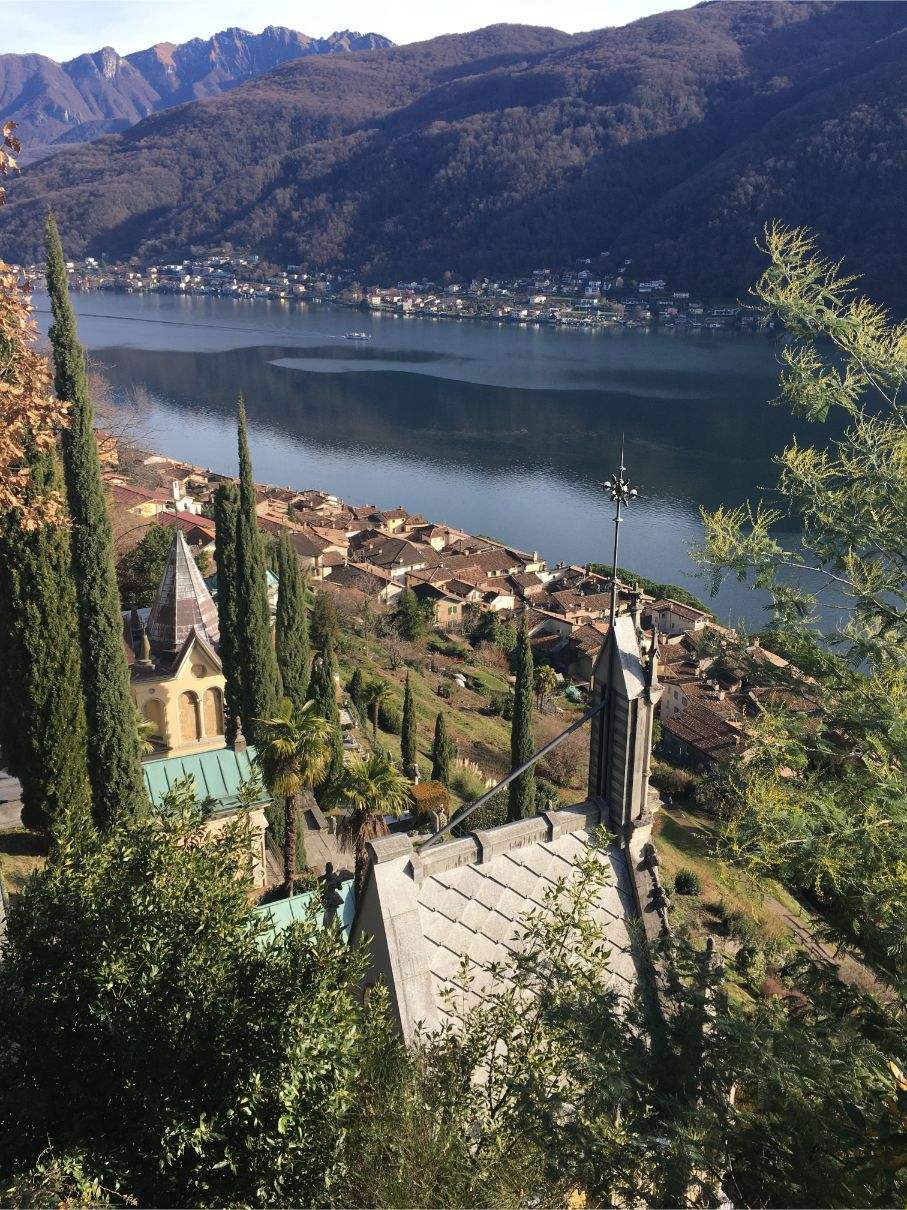 Morcote in Ticino