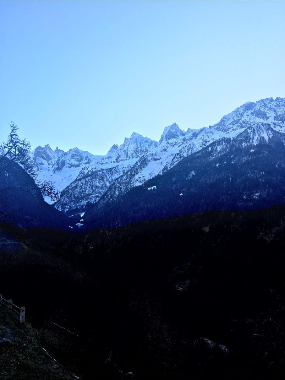 Mountains near Soglio