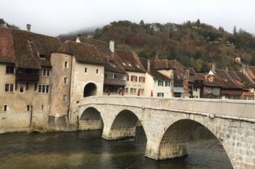 Saint Ursanne bridge