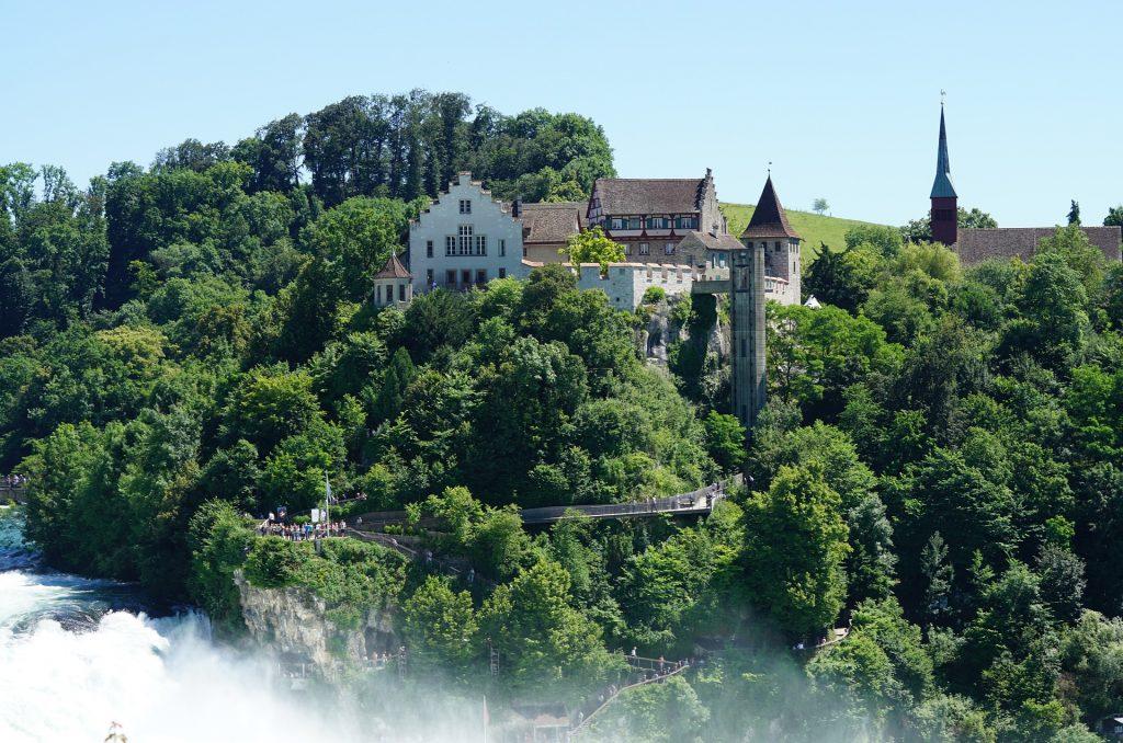 Rhine waterfalls Switzerland