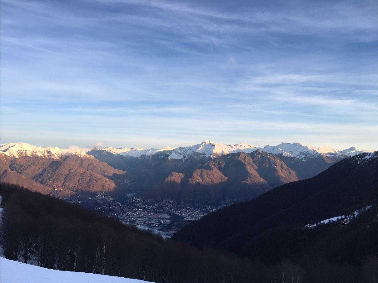 Ticino mountains