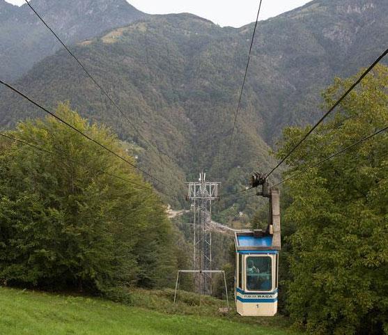 Verdasio cable car