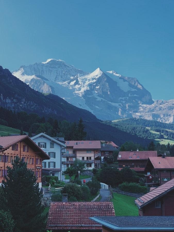 Wengen, Grindelwald, Switzerland