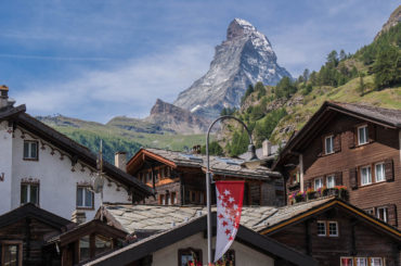 Zermatt view to Matterhorn