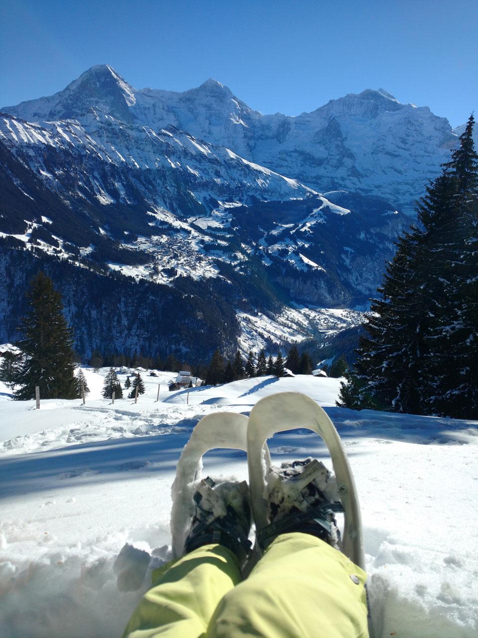 Snowshoeing in Grindelwald