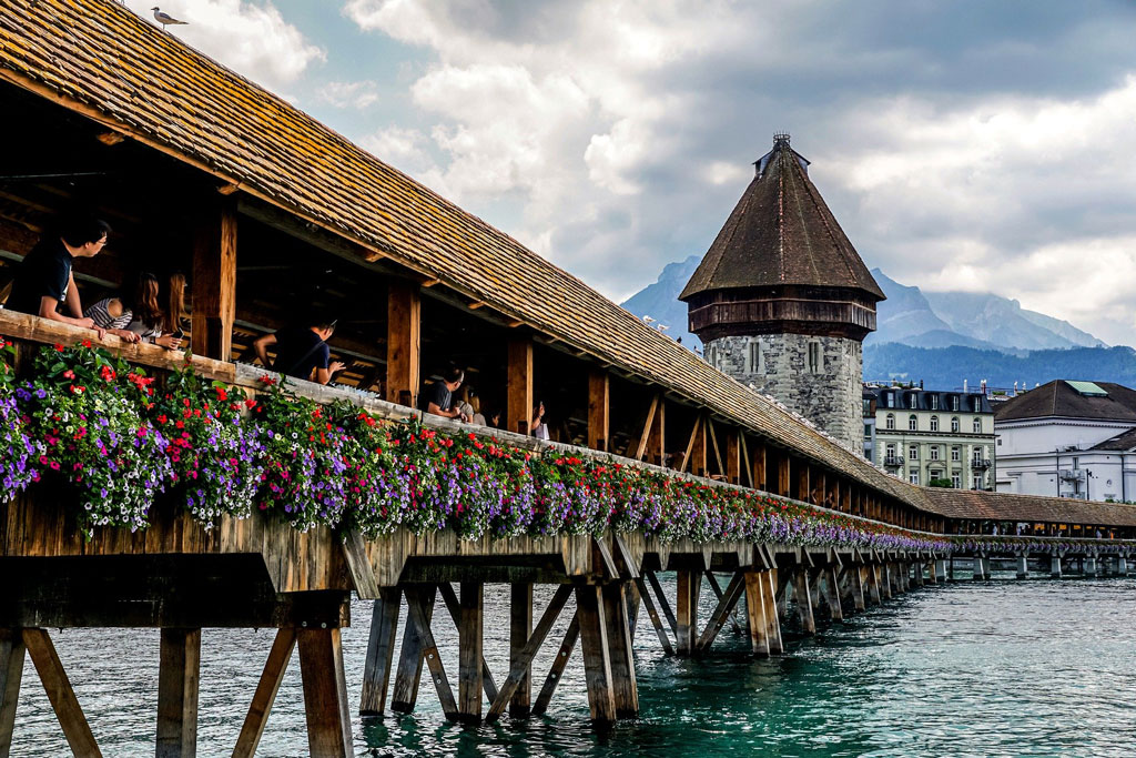 Lucerne Lake, Switzerland