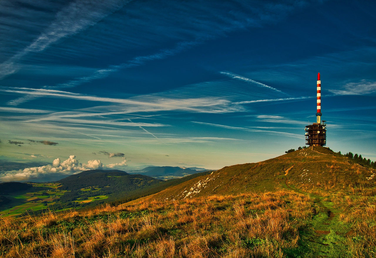 Chasseral in Switzerland