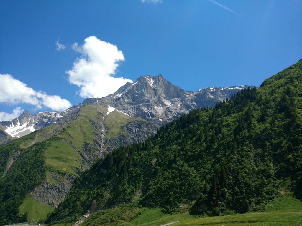 Glarus hiking trail