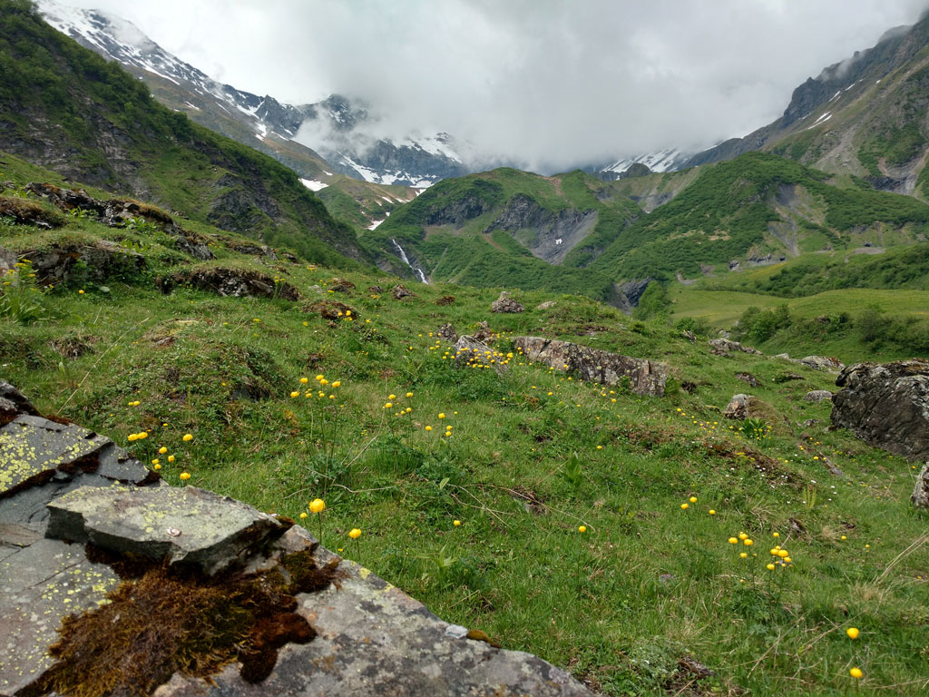 Swiss Alps hiking