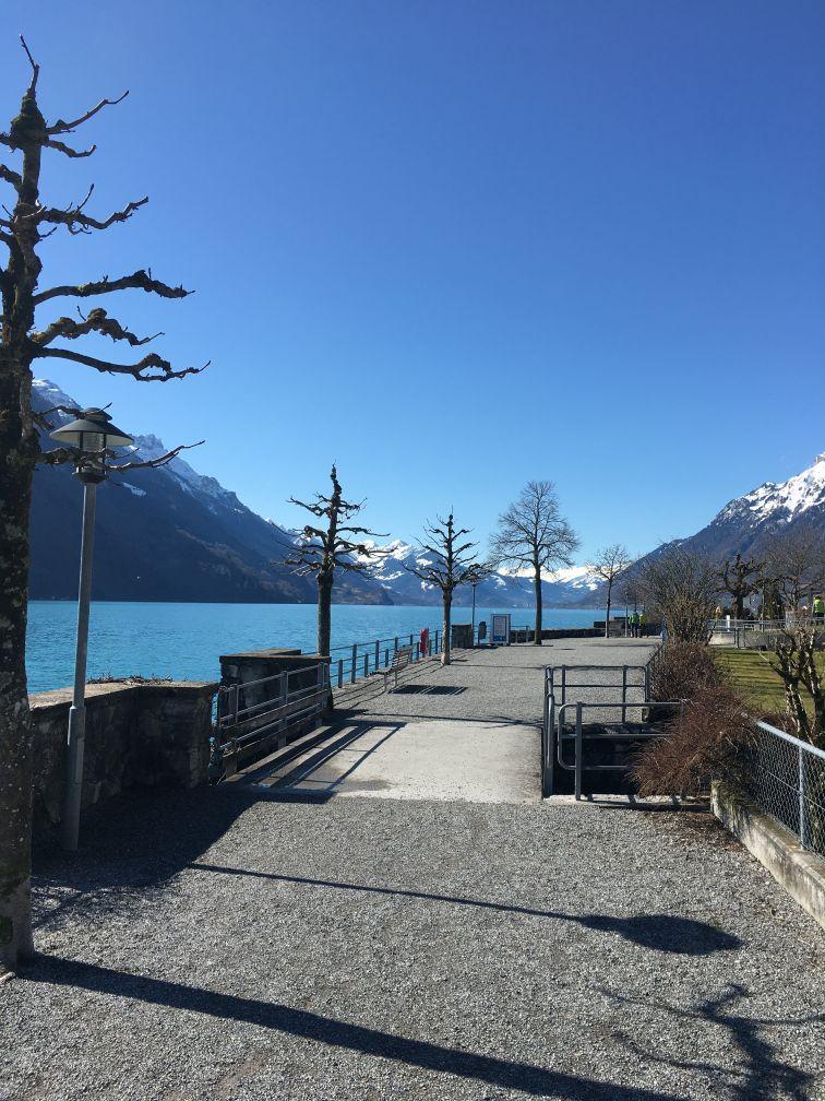 Brienz lake walk