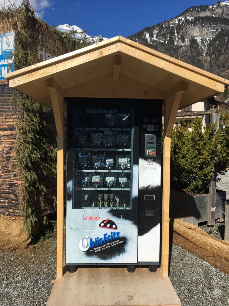 Brienz vending machine