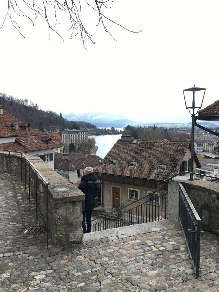 Thun old town