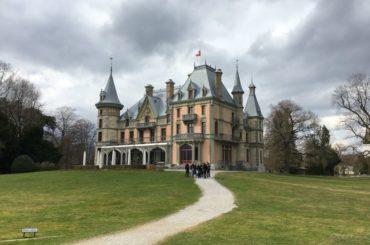 Schadau castle in Thun