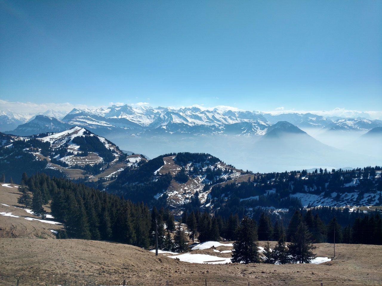 Mount Rigi hiking