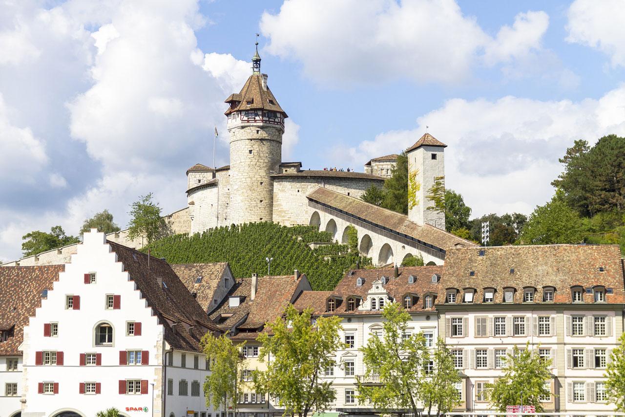 Munot Castle in Schaffhausen