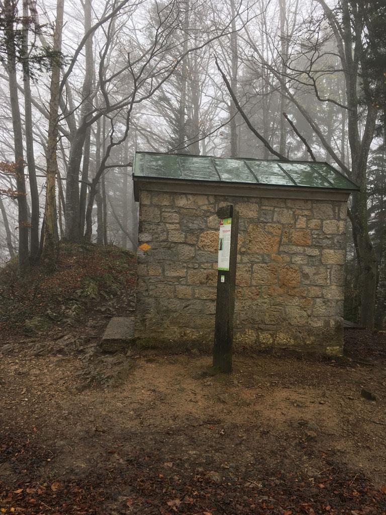 Nature Park Thal chapel