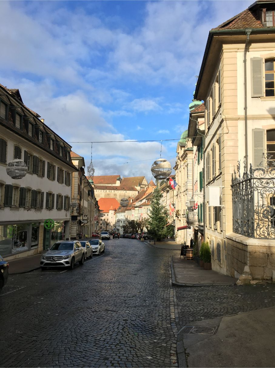 Porentruy old town